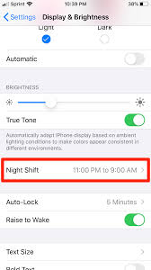How To Make A Blue Light On Your Phone How To Turn Off Blue Light On Your Iphone With Night Shift