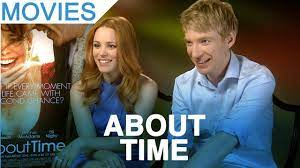 The night after another unsatisfactory new year party, tim's father tells his son that the men in his family have always had the ability to travel through time. About Time Rachel Mcadams Domhnall Gleeson Interview Youtube