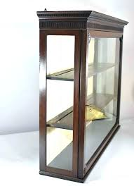 charming antique curio cabinet with curved glass wall curio cabinet antique curved glass curio cabinet for