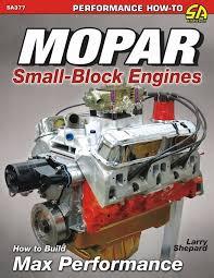 Mopar Engine Color Chart Mopar Small Block Engine How To Build Max Performance