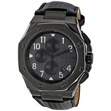 michael kors chronograph gunmetal ion plated men s watch mk8224
