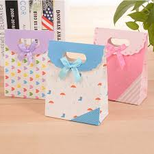 Buy <b>5 Pieces</b> Gift Boxes Romantic Lovely <b>Cartoon</b> Gift Bags & Food ...