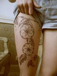 Tetování Kytky Na Nohu