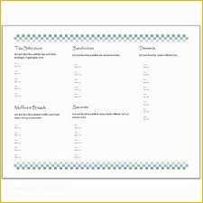 Free Publisher Menu Templates Of Hosting A Tea Download An