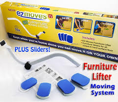 Mover System Us 28 8 Ez Moves Furniture Lifter Mover With Sliders Kit Home Moving System As Seen On Tv In Slides From Home Improvement On Aliexpress