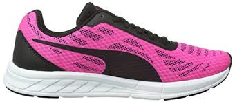 puma shoes pink and black. puma women\u0027s meteor wn\u0027s running shoes pink - glo-puma black-puma black 04 and l