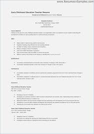 Early Childhood Assistant Resume Sample Best Of 7981 Best Resume