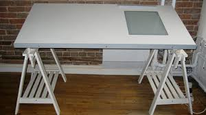 Stylish Ikea Light Table Desk Beautiful Ikea Architecture Desk Ikea White Drafting  Table With