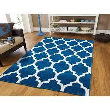 luxury moroccan trellis area rugs on clearance 5x7 blue blue rug living room