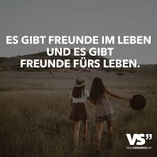 Es Gibt Freunde Im Leben Und Es Gibt Freunde Fürs Leben