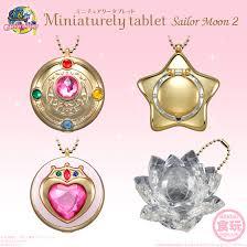 sailor moon miniaturely tablet charm
