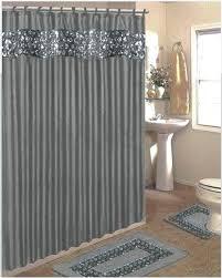 gray bath rug popular bath bling jacquard silver grey fabric shower curtain shower rings area rug