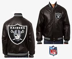oakland raiders handmade in the usa custom leather jacket by jh designs