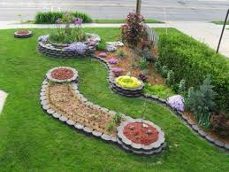 Diy Lawn Edging Ideas Landscaping Ideas With Stone