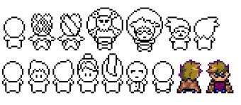 Pixel Character Template Tree Pixel Art Clipart Pixel Art Game Transparent Clip Art