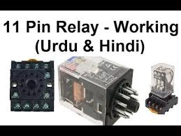 11 pin relay connections working wiring and base wiring (urdu 11 Pin Relay Base Wiring Diagram 11 pin relay connections working wiring and base wiring (urdu hindi) 11 pin square base relay wiring diagram