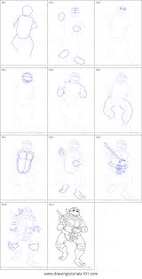 Small Picture How to Draw Leonardo from Teenage Mutant Ninja Turtles printable