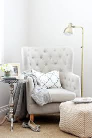 upgrade chair in corner to comfy goodness. Move current chair to playroom.  Mix This With That: Reading Nooks