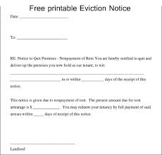 Free Printable 30 Day Eviction Notice Template Free Printable Eviction Notice Template Template Business