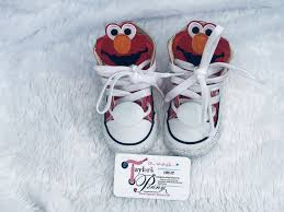 Elmo Light Up Shoes Wonder Woman Bling Converse Girls Taylors Penny
