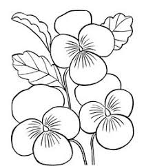 Small Picture Flower coloring pages Printable coloring pictures of flowers