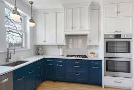 blue painted cabinets. Simple Painted Blue Kitchen Cabinets  Sebring Services In Painted F
