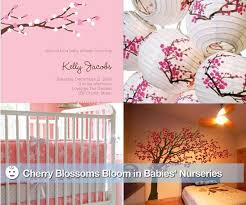 cherry blossom decor for nurseries popsugar moms