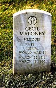 Cecil Maloney (1915-1966) - Find A Grave Memorial
