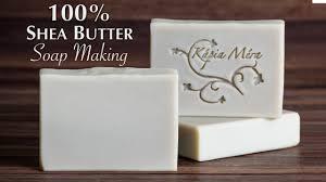 <b>Shea Butter Soap</b> Making - YouTube
