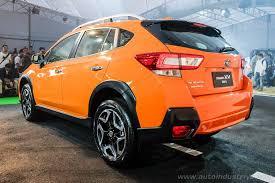 2018 subaru crosstrek orange. perfect orange motor image launches allnew 2018 subaru xv in asia to subaru crosstrek orange