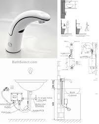 motion sensor faucets installation instructions diag