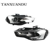 Audi A5 Fog Light Bulb Size Xenon Headlight Headlamp Assembly Fit For Audi A5 S5 2012