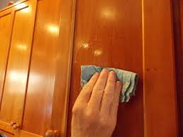 how to clean greasy cabinets in kitchen