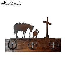 Cowboy Coat Rack Montana West Wood Cowboy Prayers Coat Rack Pard's Western Shop Inc 72