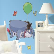 disney winnie the pooh eeyore giant wall sticker disney nursery wall stickers kids wall decals becky lolo