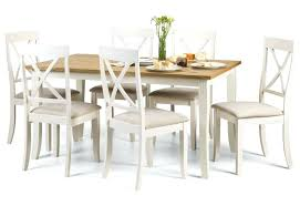 round oak dining table with white legs amalfi and extending chairs washed room furniture davenport sets light top ivory kitchen marvellous