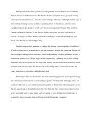 week essay william galstons main point in telling americans to  1 pages week 9 essay