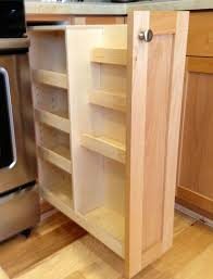 68 Beautiful Aesthetic Custom Made Pull Out Spice Rack Kitchen ...