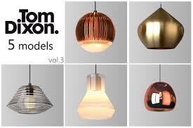 tom dixon lighting. Tom Dixon Lighting Set 3 3d Model Max Obj Mtl 1 T