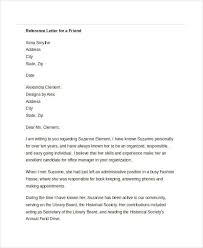 letter for job recommendation 48 examples of formal letters