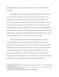reflective essay frederick j turner 5