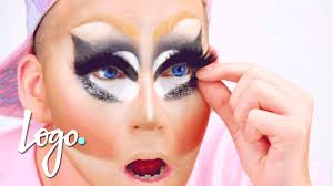 drag makeup tutorial trixie mattel s legendary makeup rupaul s drag race logo you