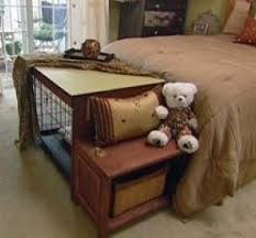 furniture style dog crate. How To Build A Dog Crate Cover/Bench Seat : Decorating Home \u0026 Garden Furniture Style