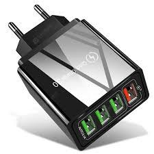<b>QC</b>-<b>04 Fast Charge QC3.0</b> 4 USB Charger EU Sale, Price ...
