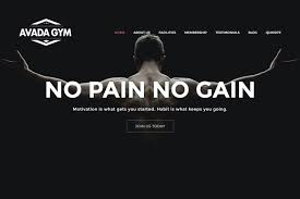 gym website design gym website by quiksite web design wellness