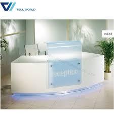 office counter desk. China Modern Design Service Checkout Counter White Salon Reception Ist Desk Front Office - Desk, E