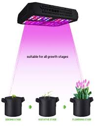 Vivosun 600w Led Grow Light Full Spectrum For Hydroponic Indoor Plants Growing Veg And Flowering 120pcs Led Diodes