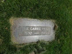 Effie Carrie Riley Pratt (1892-1945) - Find A Grave Memorial
