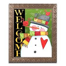 country snowman graphic. Exellent Snowman Trademark Art U0027Country Snowmanu0027 By Jennifer Nilsson Framed Graphic   Wayfairca With Country Snowman A