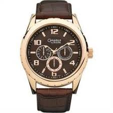 local kmart men s watches coupons s save image of caravelle men s calendar day date w round brown dial croco leather